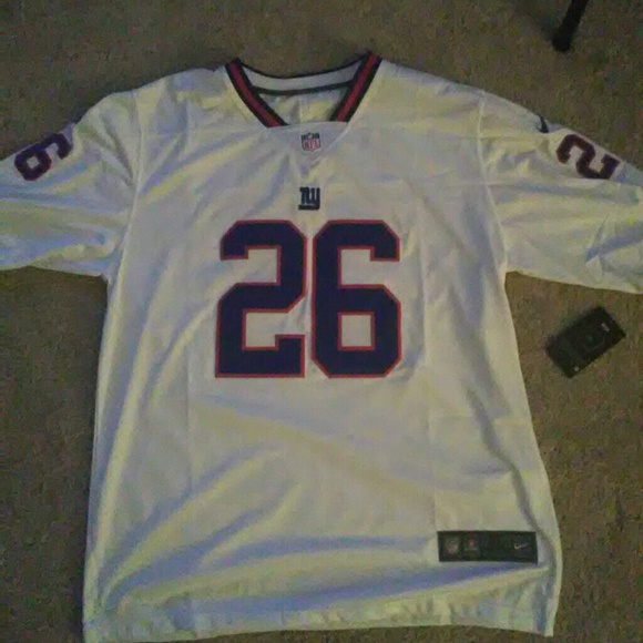 online retailer 7e7ae 67c3c Mens large ny giants s. Barkley color rush jersey